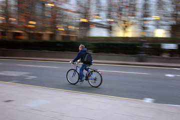 commuter on bike 2