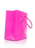 pink gift bag poster