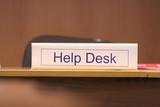 help desk poster