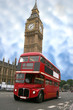 Big Ben i London Bus