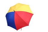 colourful umbrella 2 poster