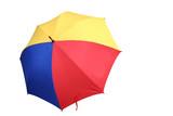 colourful umbrella 2 poster