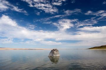 rock, abert lake 2