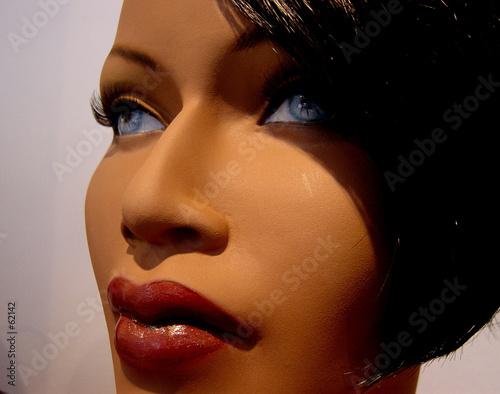 Brune aux yeux bleus photo libre de droits sur la banque d 39 images image 62142 - Brune yeux bleus ...