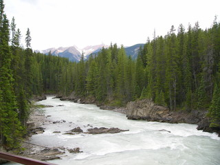 river in rocky mountain
