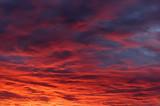 sunset sky-7 poster