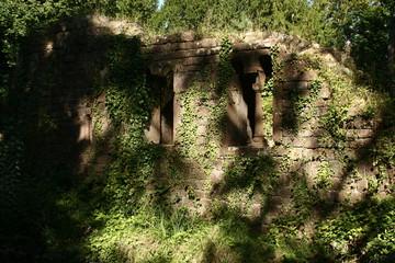 ruine d'un vieux chateau