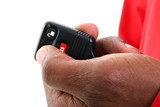 car keyless entry and alarm remote poster