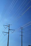 power transmission lines poster