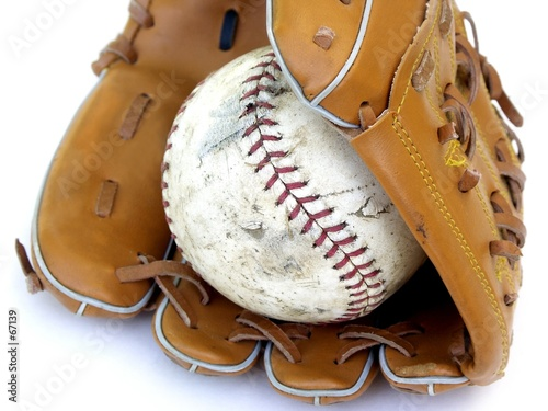 partial ball and glove