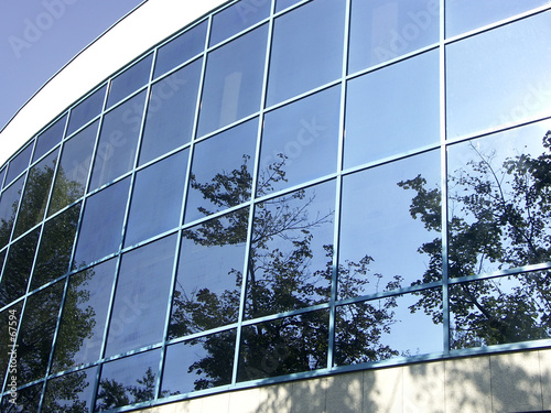 office building - reflections