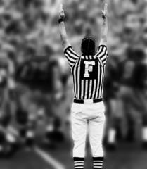 touchdown bw