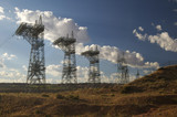 transmission towers poster