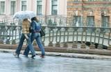 rain promenade poster