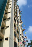 hdb flats in singapore poster