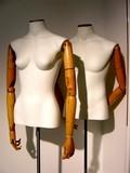 couple de mannequins poster