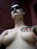 brésilienne tatouée poster