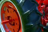 tractor wheel poster