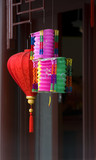 chinese paper lamps poster