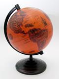 orange globe poster