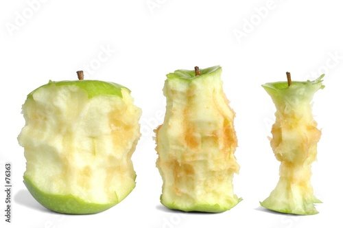 poster of apple cores