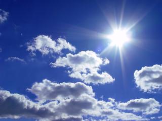 sky and a sun