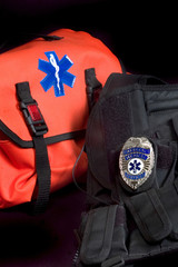 emt medical bag, tactical vest