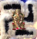 hindu elephant god poster