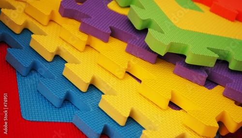 poster of foam blocks