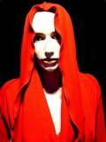 mannequin à capuche rouge poster