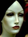mannequin au turban poster