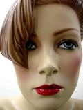 mannequin rousse à mèche poster
