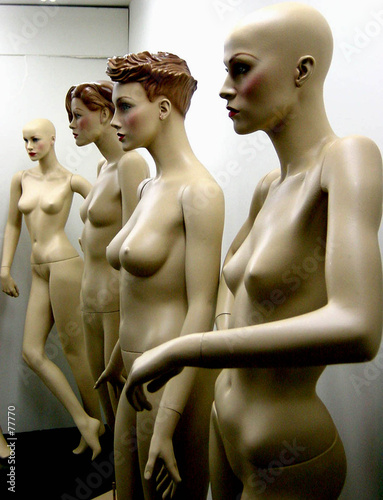 poster of serial mannequins