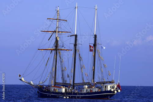 three sail schooner
