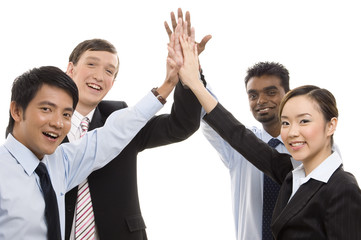 group business - high five