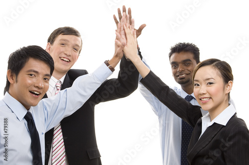 poster of group business - high five