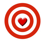 heart on target poster