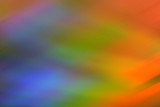 rainbow colored abstract poster