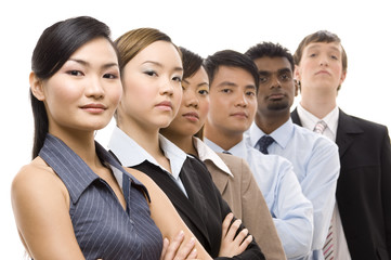 confident business team 3