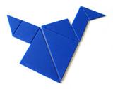 tangrams poster