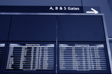 airport timetable