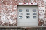 auto glass poster