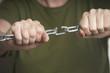 breaking a chain