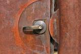 rusting door poster
