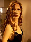mannequin aux cheveux longs poster