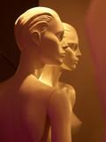 mannequins nus de profil poster