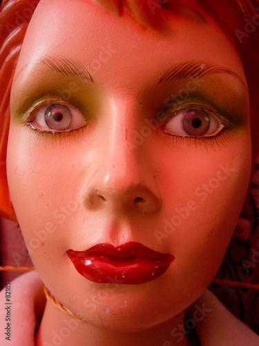 poster of visage de mannequin