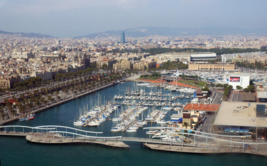 barcelona, general view