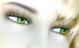 green eyes poster