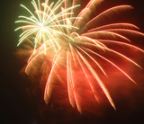 fireworks poster